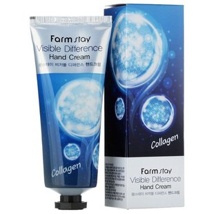 Крем для рук Farmstay Visible difference Collagen