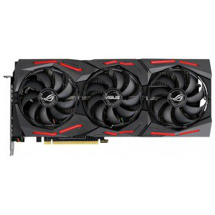 Видеокарта ASUS GeForce RTX 2070 SUPER 1605MHz PCI-E 3.0 8192MB 14000MHz 256 bit 2xHDMI HDCP Strix Gaming Advanced (ROG-STRIX-RTX2070S-A8G-GAMING) RTL