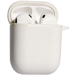Чехол для Apple AirPods (Barn&Hollis B&H-22) (белый)
